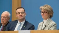 Bundesforschungsministerin Anja Karliczek (CDU) undBundesgesundheitsminister Jens Spahn (CDU) eröffnen die Nationale Dekade gegen den Krebs. (Foto: imago)