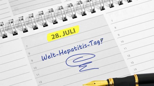 Anlässlich des Welt-Hepatitis-Tags am heutigen 28. Juli legt der Herstellerverband vfa Zahlen zur Hepatitis-C-Behandlung dar. (Foto:kamasigns / Fotolia)