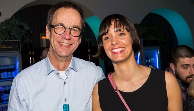 DAV-Geschäftsführer Dr. Christian Rotta mit seiner Tochter Leonie.