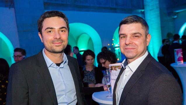Auch mit dabei: DAZ-Chefredakteur Dr. Armin Edalat und Adexa-Chef Andreas May.