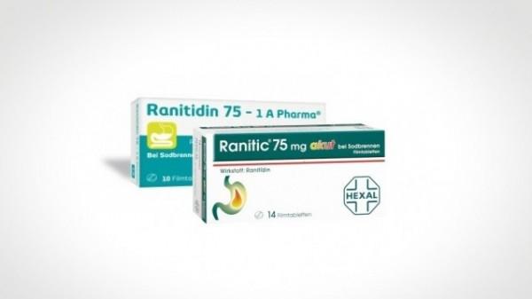 Wegen NDMA: Endgültiges Aus für Ranitidin?