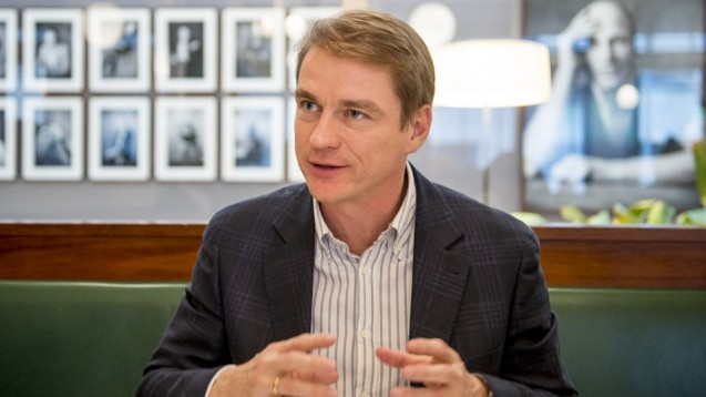 Christian Buse, Vorsitzender des BVDVA sieht keinen kausalen Zusammenhang zwischen der Arzneimittel-Preisbindung und der Versorgungsqualität. (Foto: P. Külker)