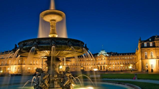 Das Neue Schloss im Zentrum von Stuttgart. (c / Foto: Fineart Panorama / stock.adobe.com)