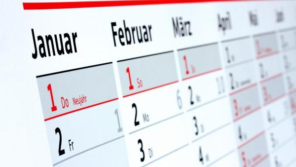 28, 30 oder 31 – Wie viele Tage hat ein Monat?