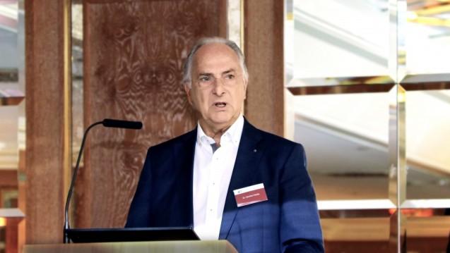 Ist froh, dass der Hüffenhardter Arzneimittel-Automat vorerst geschlossen ist: Dr. Günther Hanke, Präsident der Landesapothekerkammer Baden-Württemberg. (Foto: wes)