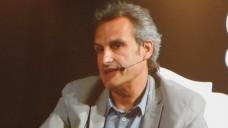 Antoni Gilabert stellte in Barcelona das elektronische Verschreibungssystem von Katalonien vor. (Foto: DAZ/diz)