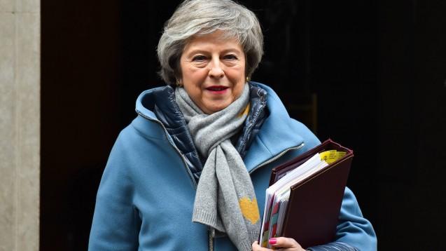 Plan abgelehnt: Die britische Premierministerin Theresa May ist mit ihrem mit der EU ausgehandelten Brexit-Plan im eigenen Parlament gescheitert. (s / Foto: imago)