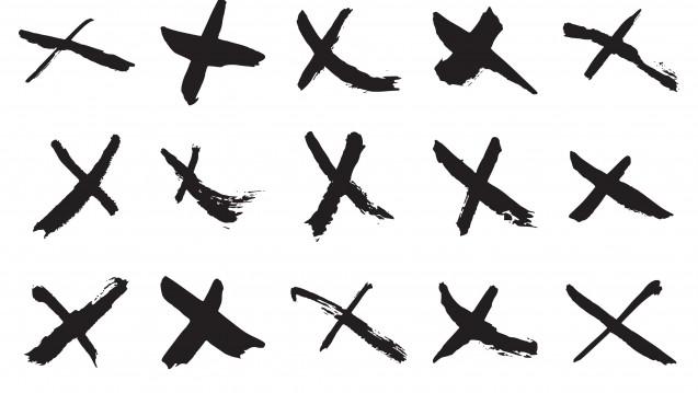 Ein Kreuz ist die beste Lösung, sagt das Apotheken-Rechenzentrum Darmstadt.