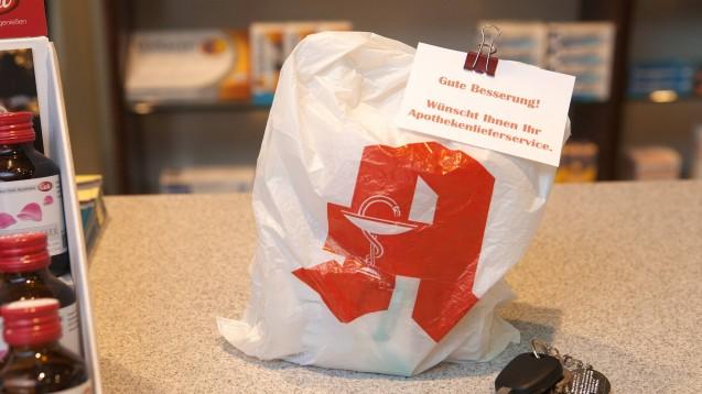 Botendienste leisten wertvolle Dienste im Sinne des Infektionsschutzes während der Coronavirus-Pandemie. (Foto: imago images / JOKER)