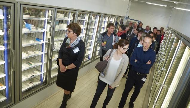 Der moderne Kühlartikel-Bereich in Böblingen wird besonders eng überwacht, um Ausfälle der Kühlung und den Verfall der oft sehr teuren Packungen zu verhindern. (Foto: Noweda)