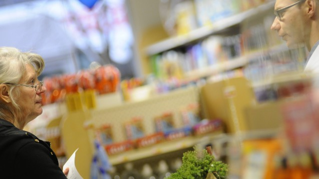 In Kanada (hier eine Apotheke in Vancouver) erhalten Apotheker immer mehr Kompetenzen. (s / Foto: imago images / All Canada Photos)