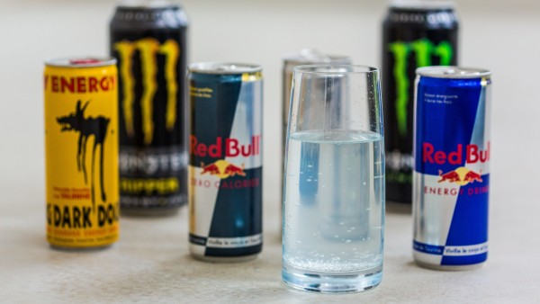 Vorsicht bei Energy-Drinks