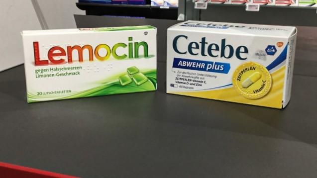 Der Pharmakonzern Stada hat zum 1. Juni die Vermarktungsrechte von sechs GSK-Produkten übernommen, darunter auch Cetebe und Lemocin. ( r / Foto: privat)