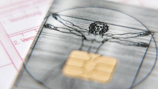 Der elektronische Medikationsplan soll zunächst auf der Gesundheitskarte gespeichert werden. (s / Foto: imago images / Martin Bäuml Fotodesign)
