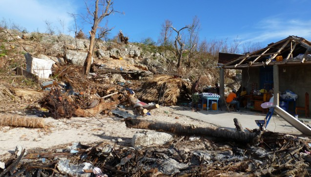 Hurrikan Matthew hat eine Spur der Verwüstung hinterlassen. (Foto: AoG)