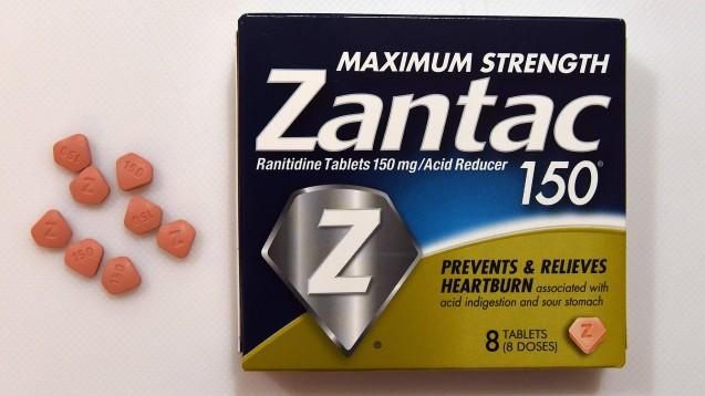 Nicht nur das Original Zantac, auch alle Ranitidin-Generika werden in den USA vom Markt genommen. (t/Foto: imago images / ZUMA Press)