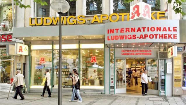 Manche Apotheken, wie die Ludwigs-Apotheke in München, haben sich auf den Einzelimport spezialisiert. (Foto: imago / HRSchulz)
