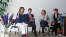 Diskutieren über TTIP-Auswirkungen auf das deutsche Gesundheitswesen (v.l.): Ulrike Faber, Johannes Eisenbarth und Sophie Bloemen. (Foto: Gudrun Meiburg/VdPP)