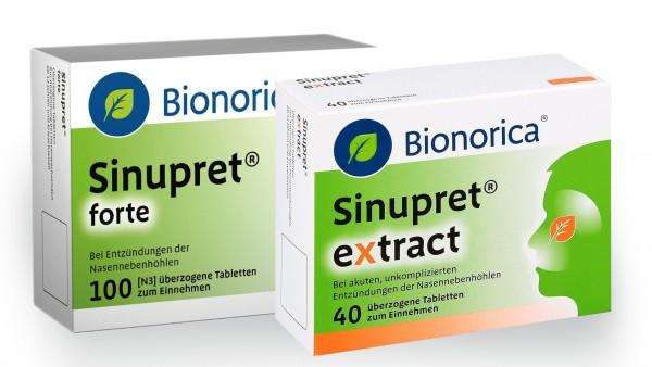 Was sagt Bionorica zu Nasenbluten unter Sinupret?