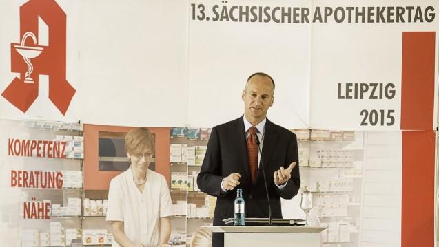 Das Modellprojekt ARMIN kommt voran, davon ist auch ABDA-Präsident Friedemann Schmidt überzeugt. (Foto: Dr. Ulrich Bethge)