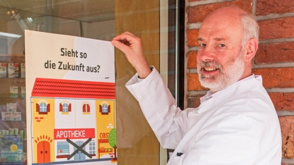 Niedersächsische Apotheker starten Plakataktion