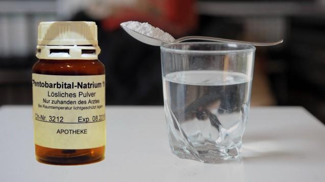 Die BAK lehnt Natrium-Pentobarbital als Mittel zur staatlich regulierten Selbststötung ab. (m / imago images / sepp spiegl)