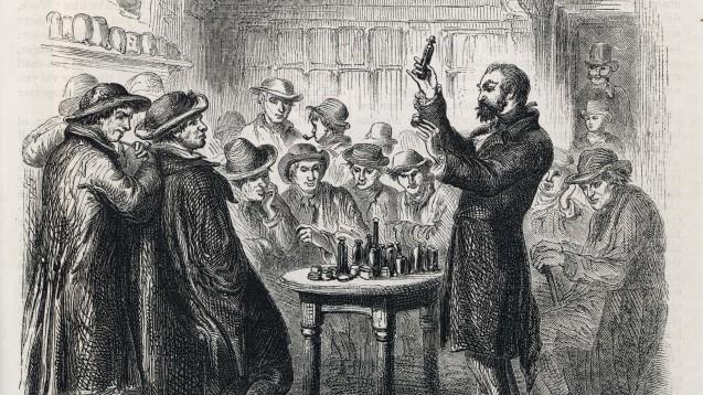 Bereits seit der Antike wurde versucht, das gesuchte Element medizinisch einzusetzen. Nur allzu oft überlebten das die Patienten aber nicht. (Foto: Archivist / stock.adobe.com)