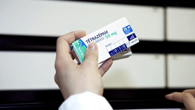 Das BfArM gewährt bei Tetrazepam kein weiteres Ruhen der Zulassungen mehr. (Foto:picture alliance / BSIP)