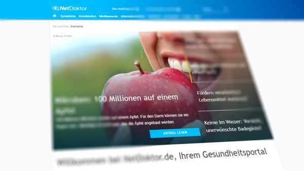 Teil der Zukunftspakt-Strategie: Burda übernimmt NetDoktor.de