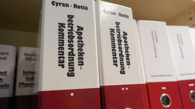 § 17 Apothekenbetriebsordnung soll aufgeräumt werden. (c / Foto: DAZ.online)
