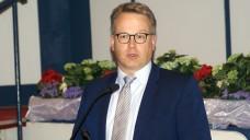 Dr. Kai Christiansen, Präsident der Apothekerkammer Schleswig-Holstein, freut sich über die Einführung des E-Rezeptes. (Foto: tmb/DAZ)