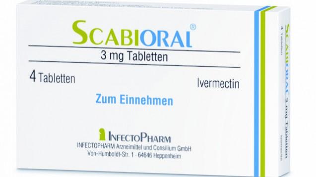 wiederholte LIeferschwierigkeiten für Krätze-Tabletten (Bild: Infectopharm)