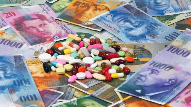 Millionen Franken mehr: In der Schweiz steigen die Gesundheitsausgaben insgesamt, die für Arzneimittel und Apotheken sinken allerdings. (Foto: Bilderbox)