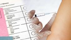 Was halten die Parteien in Hessen von der Idee, dass Apotheken impfungen übernehmen könnten? (Foto:sharryfoto, Stimmzettel: RRF / stock.adobe.com)