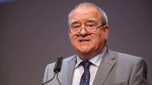 DAV-Chef Fritz Becker fordert die Bundesregierung auf, die für den 1. Januar geplante Bonpflicht zu stoppen. (s / Foto: Schelbert)
