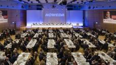 Auf der Noweda-Generalversammlung gab Genossenschaftschef Michael P. Kuck bekannt, dass 3700 Apotheker schon Mitglied im Zukunftspakt mit dem Burda-Verlag seien und dass man sich von nicht aktiven Mitgliedern getrennt habe. (Foto: Noweda)