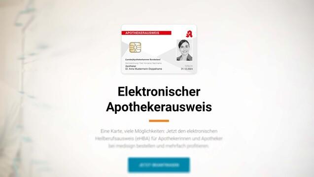 Aktuell kommt jede Apotheke noch wunderbar mit nur einem HBA aus – er wurde bislang einmalig benötigt, um die SMC-B für die TI-Anwendungen zu legitimieren. (Screenshot: medisign.de / DAZ)