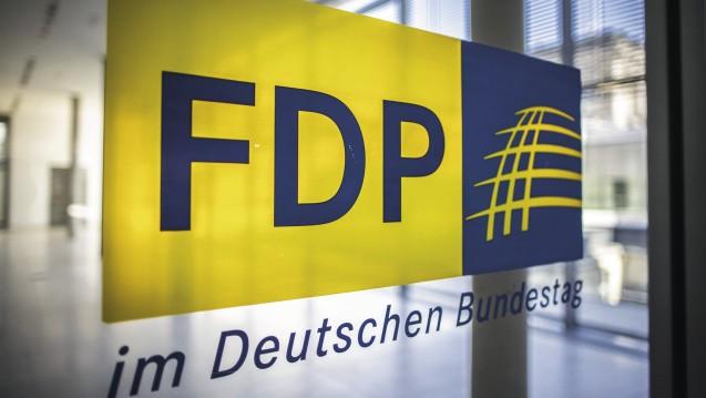 Die AG Gesundheit der FDP-Bundestagsfraktion hat erstmals ein Positionspapier zum Apothekenmarkt erarbeitet. Die Forderung nach Apothekenketten ist dort nicht enthalten. (Foto: Külker)