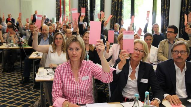 Vier Stunden diskutierte die AK Westfalen-Lippe über die PTA-Ausbildung: Am Ende stand ein Mini-Kompromiss. (Foto: AKWL)