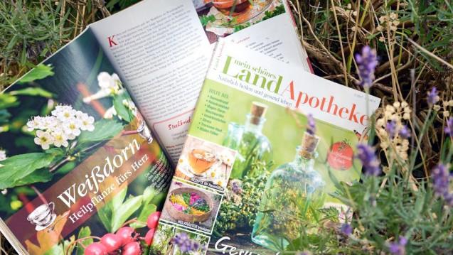 Naturheilkunde pur: In seinem neuen Apotheken-Magazin beleuchtet der Burda-Verlag insbesondere natürliche Gesundheitsthemen und versteht sich nicht als Konkurrenz zur Apotheken Umschau. (Foto: Burda)
