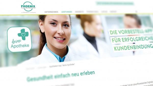 """Phoenix überführt Kooperation """"Livplus"""" in Digitalkonzept """"deine Apotheke"""""""