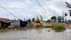 """Zyklon Idai und starke Regenfälle verwüsteten vor einigen Tagen Mosambik. Die Wassermassen begünstigen Infektionskrankheiten. """"Apotheker Helfen"""" und """"Apotheker ohne Grenzen"""" leisten Nothilfe. (s / Foto: AoG)"""