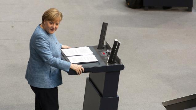 Bundeskanzlerin Angela Merkel (CDU) fordert wie Bundesgesundheitsminister Jens Spahn (CDU), dass die Patientenakte über das geplante Bürgerportal einsehbar ist. (Foto: Imago)