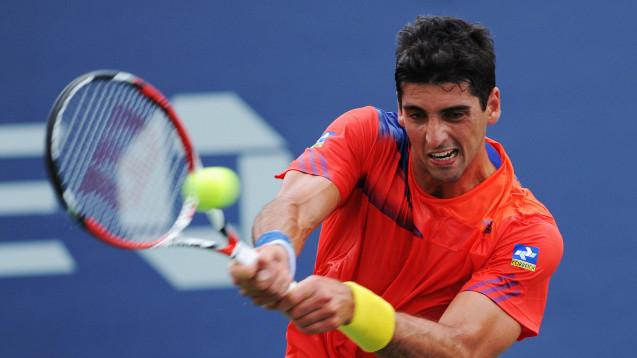 Der brasilianische Tennis-Profi Thomasz Bellucci hat eine kreative Ausrede für sein Dopingvergehen. (Foto:picture alliance / dpa)