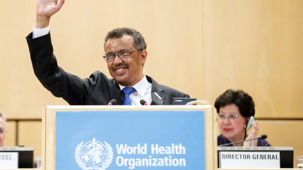 Äthiopier Tedros wird neuer WHO-Generaldirektor