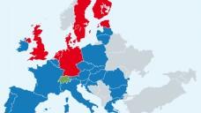 Die Versand-Apotheken versuchen den Eindruck zu erwecken, ein Rx-Versandverbot sei unrealistisch. Dabei ist es in der EU die Regel, nicht die Ausnahme. (Karte: Brothers - colourbox.de/DAZ)