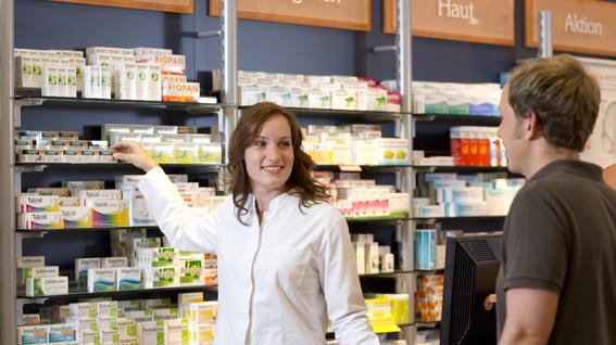 Apotheken führend bei Steigerungen im Einzelhandel