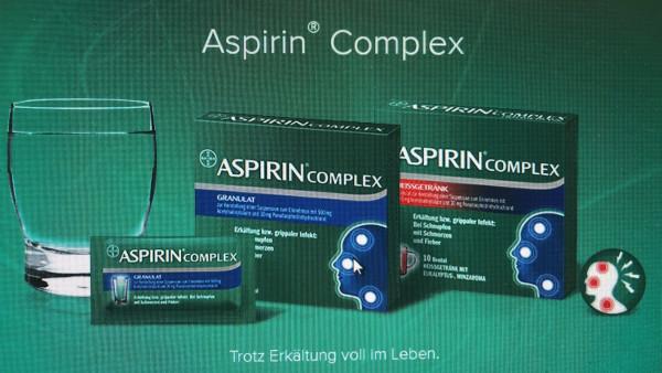 Ein Winter ohne Aspirin Complex?