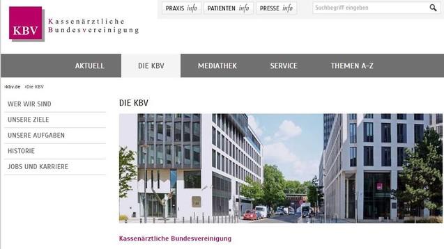 Wieder ist die KBV in den Schlagzeilen: Verfahren richte sich gegen elf Beschuldigte, sagte Behördensprecher Martin Steltner am Dienstag. Es gehe um mehrere Millionen Euro. (Screenshot: DAZ.online)