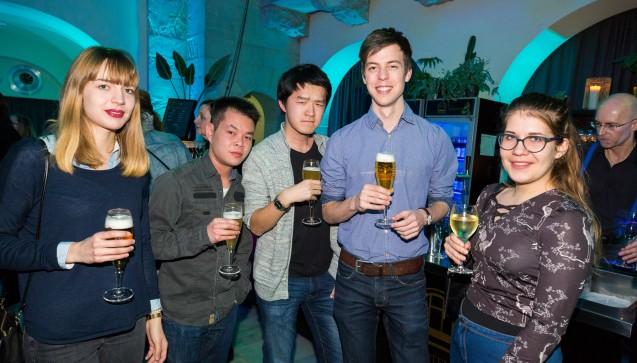 Mit von der Partie waren auch viele Pharmazie-Studierende aus allen Teilen Deutschlands.